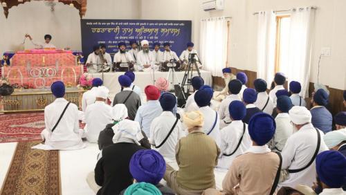 Weekly Simran Samagam November 12, 2017  Sant Baba Amir Singh ji Mukhi Jawaddi Taksal (19)
