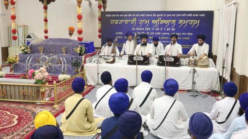 Weekly Simran Samagam November 12, 2017  Sant Baba Amir Singh ji Mukhi Jawaddi Taksal (2)