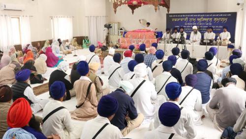 Weekly Simran Samagam November 12, 2017  Sant Baba Amir Singh ji Mukhi Jawaddi Taksal (20)