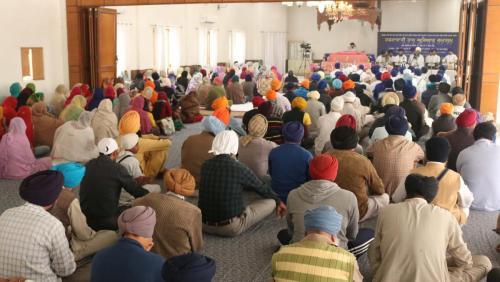 Weekly Simran Samagam November 12, 2017  Sant Baba Amir Singh ji Mukhi Jawaddi Taksal (22)