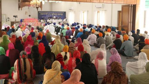 Weekly Simran Samagam November 12, 2017  Sant Baba Amir Singh ji Mukhi Jawaddi Taksal (23)