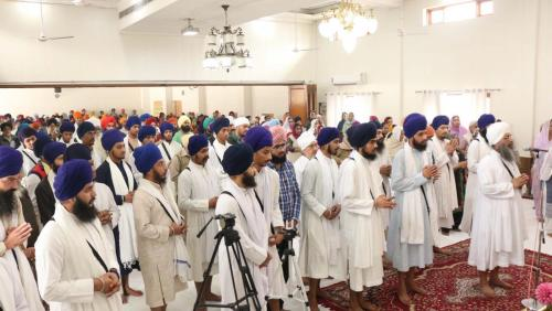 Weekly Simran Samagam November 12, 2017  Sant Baba Amir Singh ji Mukhi Jawaddi Taksal (24)