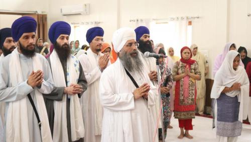 Weekly Simran Samagam November 12, 2017  Sant Baba Amir Singh ji Mukhi Jawaddi Taksal (25)