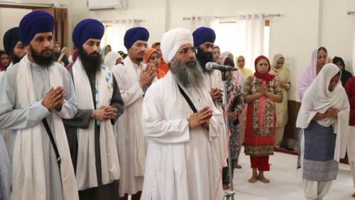 Weekly Simran Samagam November 12, 2017  Sant Baba Amir Singh ji Mukhi Jawaddi Taksal (26)