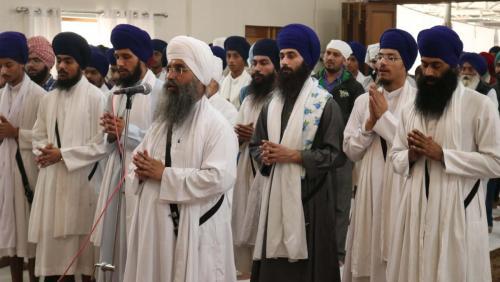 Weekly Simran Samagam November 12, 2017  Sant Baba Amir Singh ji Mukhi Jawaddi Taksal (29)
