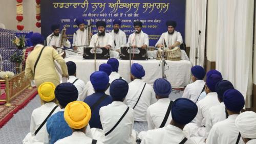 Weekly Simran Samagam November 12, 2017  Sant Baba Amir Singh ji Mukhi Jawaddi Taksal (3)