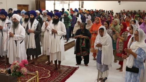 Weekly Simran Samagam November 12, 2017  Sant Baba Amir Singh ji Mukhi Jawaddi Taksal (30)