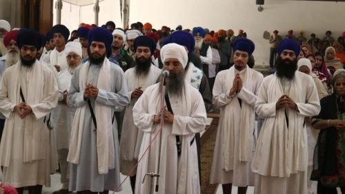 Weekly Simran Samagam November 12, 2017  Sant Baba Amir Singh ji Mukhi Jawaddi Taksal (31)