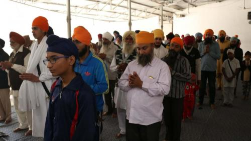 Weekly Simran Samagam November 12, 2017  Sant Baba Amir Singh ji Mukhi Jawaddi Taksal (36)
