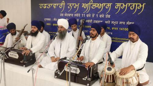 Weekly Simran Samagam November 12, 2017  Sant Baba Amir Singh ji Mukhi Jawaddi Taksal (5)