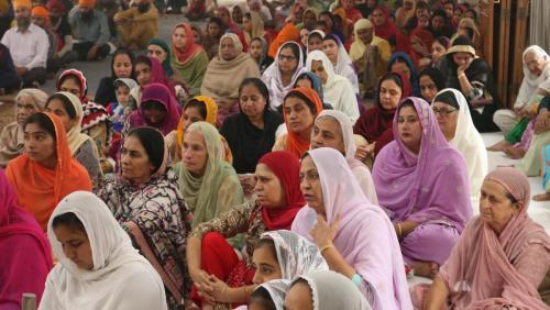 Weekly Simran Samagam November 12, 2017  Sant Baba Amir Singh ji Mukhi Jawaddi Taksal (8)