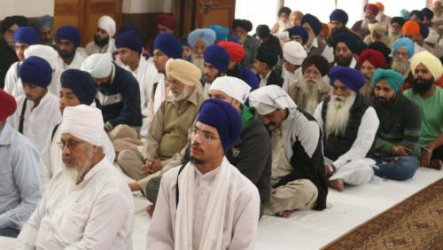 Weekly Simran Samagam November 12, 2017  Sant Baba Amir Singh ji Mukhi Jawaddi Taksal (9)