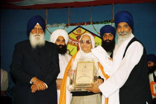 AGSS 2001 Bibi Jaswant Kaur