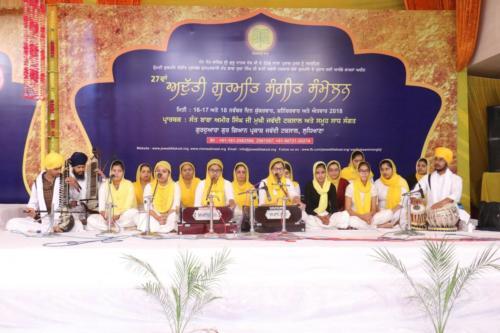 Student of Jawaddi Taksal (Girls)