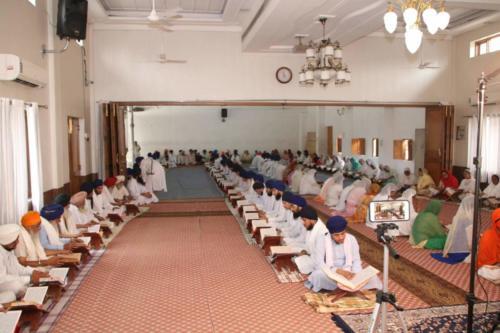 Arambh Shri Sahaj Path Sant Baba Amir Singh ji Jawaddi Taksal (8)
