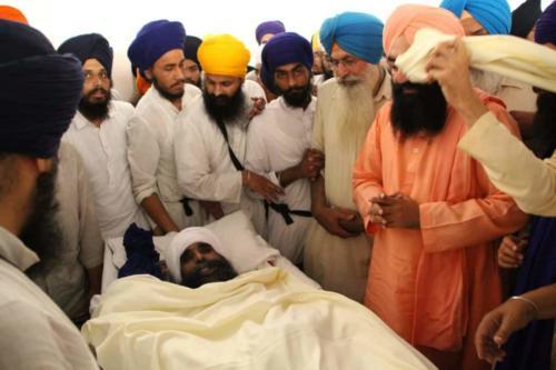 Baba Kuldeep Singh ji Antim Darshan (2)