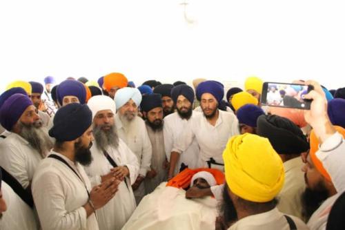 Baba Kuldeep Singh ji Antim Darshan (5)