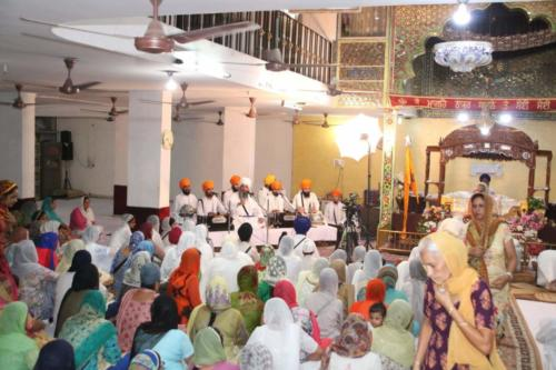 Gurdwara Sri guru Singh Sabha Karnail Singh Nagar - Sant Baba Amir Singh ji (1)