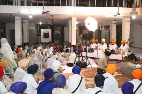 Gurdwara Sri guru Singh Sabha Karnail Singh Nagar - Sant Baba Amir Singh ji (2)