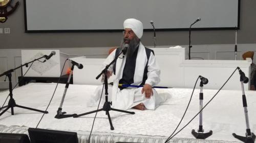 Sant Baba Amir Singh ji Mukhi Jawaddi taksal at Canada tour 2018 (1)