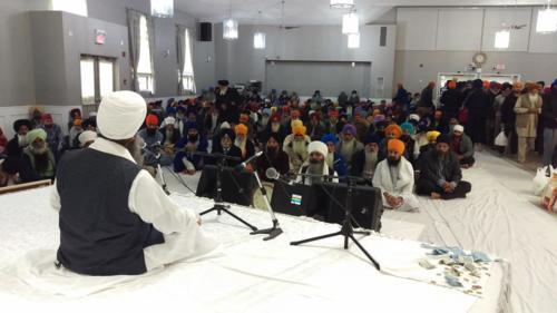 Sant Baba Amir Singh ji Mukhi Jawaddi taksal at Canada tour 2018 (3)