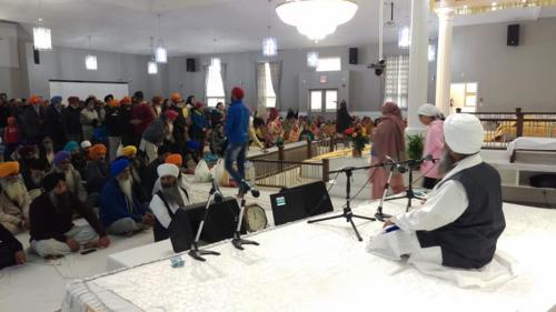 Sant Baba Amir Singh ji Mukhi Jawaddi taksal at Canada tour 2018 (4)