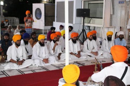 Sant Baba Amir Singh ji and Students of Jawaddi Taksal Hazoor sahib Yatra (1)