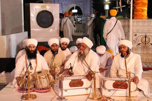 Sant Baba Amir Singh ji and Students of Jawaddi Taksal Hazoor sahib Yatra (2)
