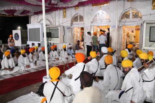 Sant Baba Amir Singh ji and Students of Jawaddi Taksal Hazoor sahib Yatra (3)