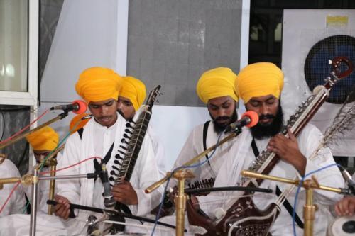 Sant Baba Amir Singh ji and Students of Jawaddi Taksal Hazoor sahib Yatra (4)