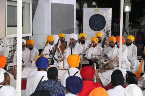 Sant Baba Amir Singh ji and Students of Jawaddi Taksal Hazoor sahib Yatra (7)