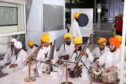 Sant Baba Amir Singh ji and Students of Jawaddi Taksal Hazoor sahib Yatra (8)