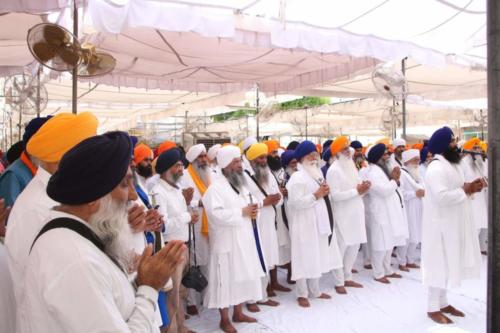 Sant Baba Sucha Singh ji honoured from Akal Takhat Sahib, award received by Sant Baba Amir Singh ji (12)