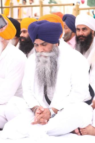 Sant Baba Sucha Singh ji honoured from Akal Takhat Sahib, award received by Sant Baba Amir Singh ji (35)