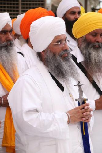 Sant Baba Sucha Singh ji honoured from Akal Takhat Sahib, award received by Sant Baba Amir Singh ji (36)