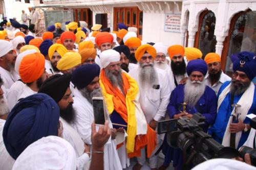 Sant Baba Sucha Singh ji honoured from Akal Takhat Sahib, award received by Sant Baba Amir Singh ji (38)