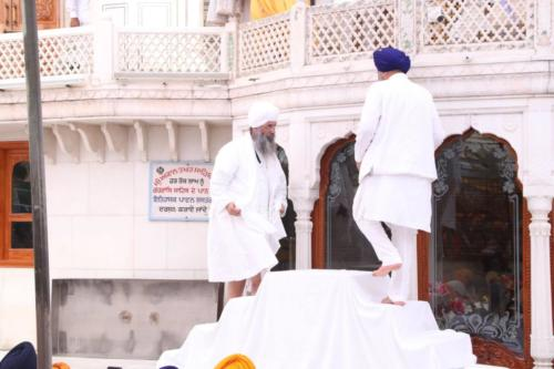 Sant Baba Sucha Singh ji honoured from Akal Takhat Sahib, award received by Sant Baba Amir Singh ji (41)