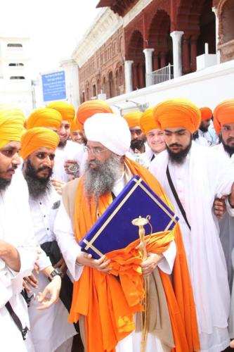 Sant Baba Sucha Singh ji honoured from Akal Takhat Sahib, award received by Sant Baba Amir Singh ji (45)