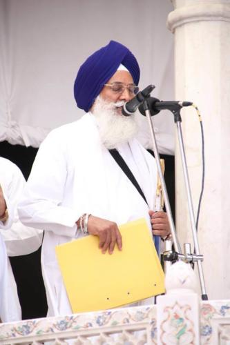 Sant Baba Sucha Singh ji honoured from Akal Takhat Sahib, award received by Sant Baba Amir Singh ji (46)