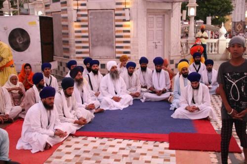 Takhat Sachkhand Sri Hazoor Sahib, Vikhe Darshan karde hoye Sant Baba Amir Singh ji Mukhi Jawaddi Taksal (11)