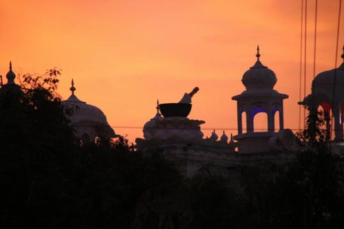 Takhat Sachkhand Sri Hazoor Sahib, Vikhe Darshan karde hoye Sant Baba Amir Singh ji Mukhi Jawaddi Taksal (6)