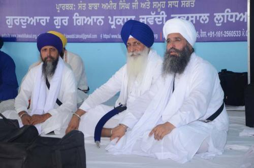 Sant Baba Amir Singh ji Giani Mal Singh ji Jathedar Sri Kesghar Sahib