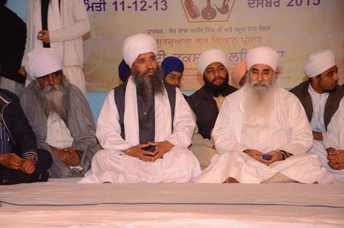 Sant Baba Amir Singh ji Mukhi Jawaddi Taksal and Sant Baba Harbhajan Singh ji