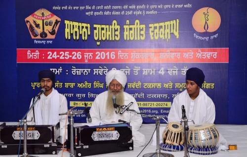 Gurmat Sangeet Workshop 2016 Jawaddi Taksal  (10)